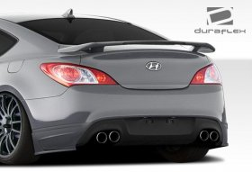 Extreme Dimensions Duraflex J-Spec Rear Add Ons 2010 - 2016 Genesis Coupe