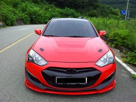 Sequence Spec-RS Front Diffuser 2013 - 2016 Genesis Coupe
