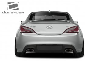 Extreme Dimensions Duraflex RS-1 Trunk 2010-2016 Hyundai Genesis Coupe