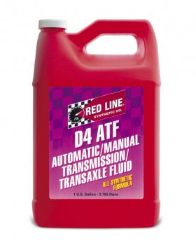 Redline D4 Synthetic Automatic Transmission Fluid - Gallon Genesis Coupe 2.0T 2010 - 2014