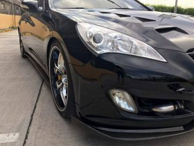ABS Dynamic JS Carbon fiber Hood Genesis Coupe 2010 - 2012