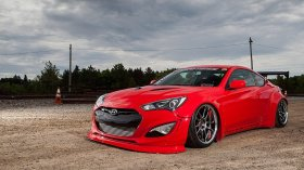 Airlift Performance Air Suspension Front Kit Genesis Coupe 2010 - 2016