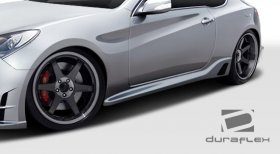 TP-R Duraflex Side Skirts 2010 - 2016 Genesis Coupe - 2 Piece