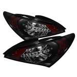 Spyder Auto Hyundai Genesis 2010 - 2012 LED Tail Lights - Black