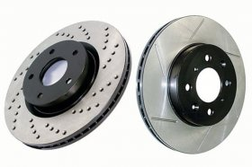 Centric High Carbon Rotors Genesis Coupe Brembo - Fronts