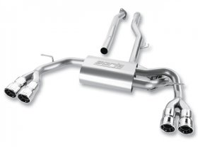 Borla Stainless Steel Cat-Back System Genesis Coupe 2.0T 2010 - 2014