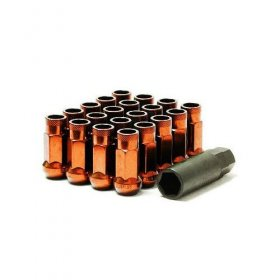 Muteki SR48 Lug nuts - Orange Genesis Coupe 2010 - 2016