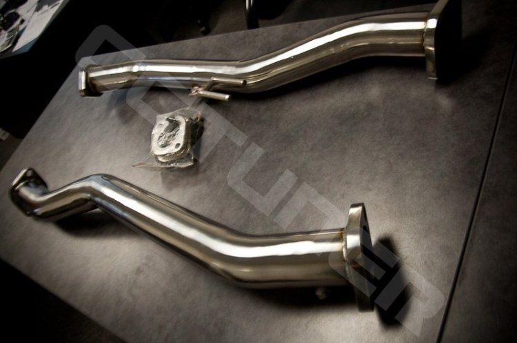 CNT Catback Exhaust V3 Polished tips Genesis Coupe 3.8 2010 - 2016