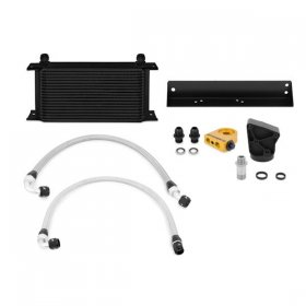 Mishimoto Black Oil Cooler Kit Genesis Coupe 3.8 V6 Thermostatic 2010 - 2016