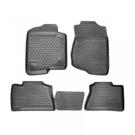 Westin Black Profile Front & Rear Floor Liners Genesis Coupe 2010 - 2016