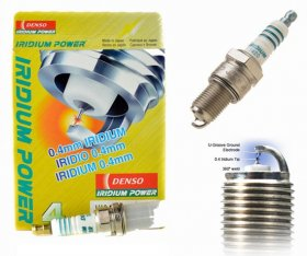 Denso Iridium Power Spark Plug Set Genesis Coupe 3.8 2010 - 2016