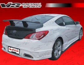 VIS RACING GNX REAR BUMPER Genesis Coupe 2010 - 2016
