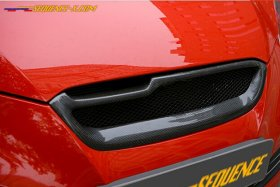Sequence Spec-RS Carbon Fiber Front Grill 2010 - 2012 Genesis Coupe