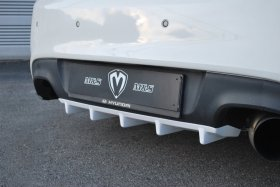 M&S ABS Plastic Rear Diffuser Genesis Coupe 2010 - 2016