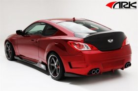 ARK S-FX Wide Body Rear bumper Genesis Coupe 2010 - 2016