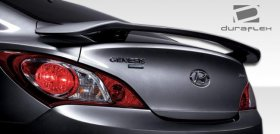 Extreme Dimensions Duraflex Track Look Wing Spoiler Hyundai Genesis Coupe 2010 - 2016