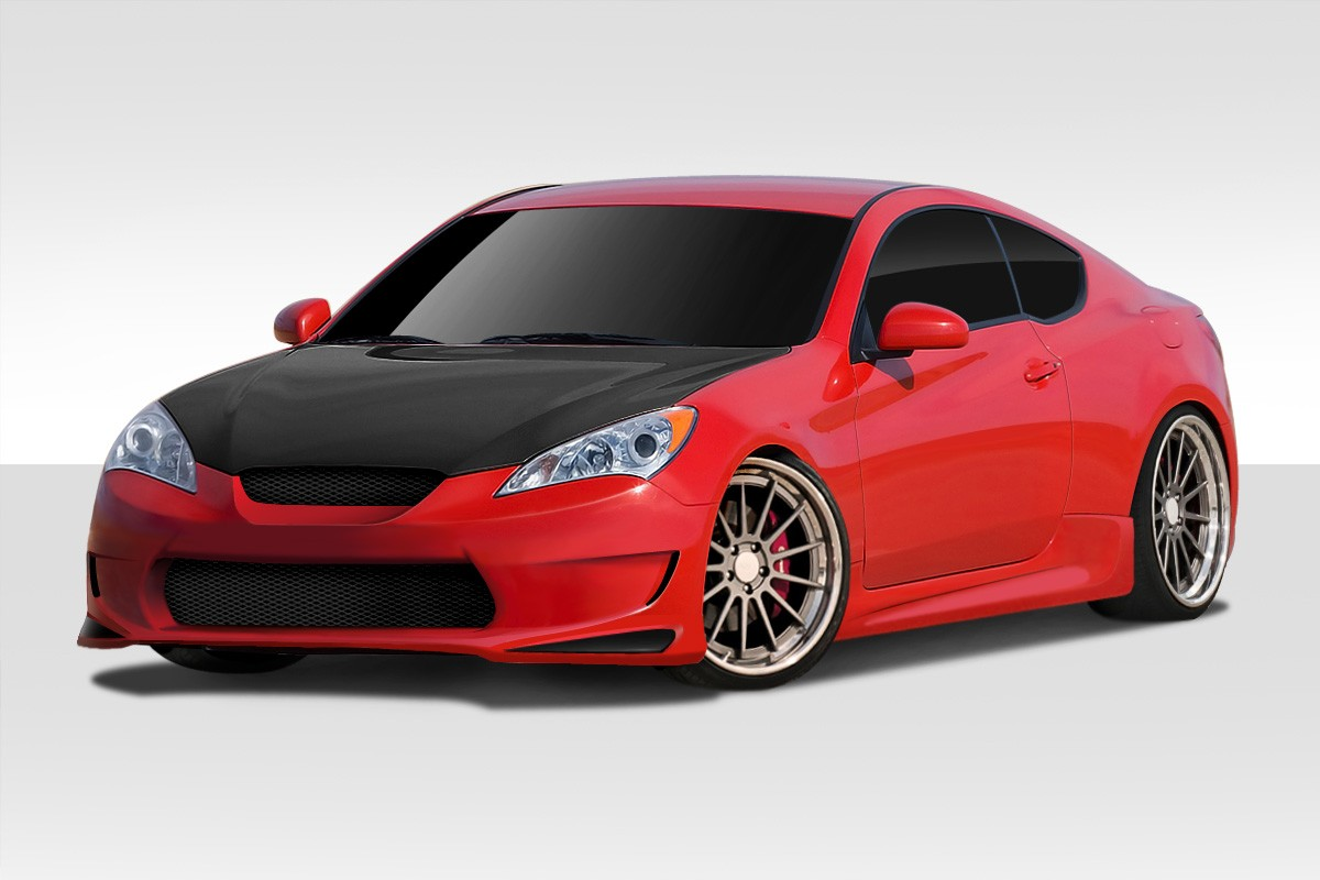 Extreme Dimensions AM-S GT Duraflex 4 Piece Body Kit 2010 - 2012 Genesis Coupe