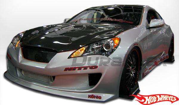 Hot Wheels Side Skirts Genesis Coupe 2010 - 2016