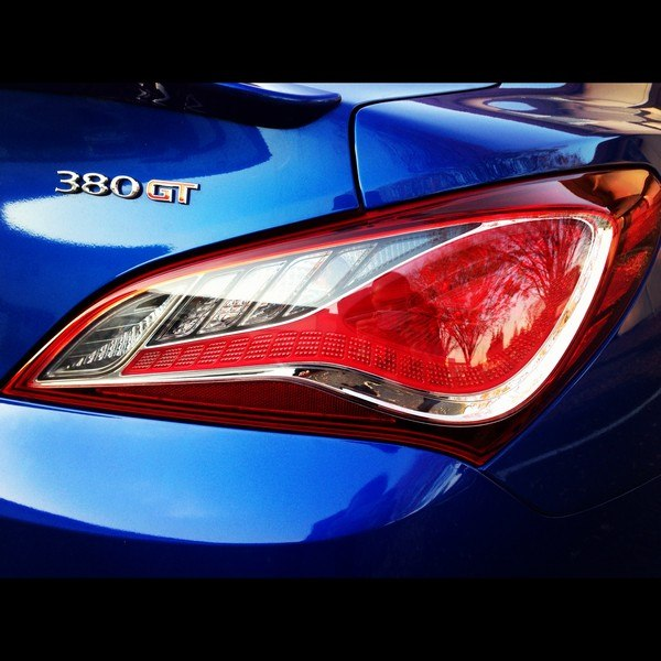 OEM Hyundai Genesis Coupe LED Tail lights for 2010 -2015
