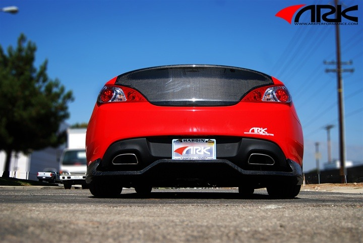 Hyundai Genesis Coupe Diffusers And Rear Fillers