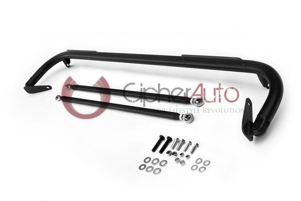 CIPHER RACING BLACK CUSTOM HARNESS BAR GENESIS COUPE 2010 - 2016