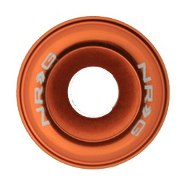 NRG 10 PIECE FENDER WASHER KIT - ORANGE