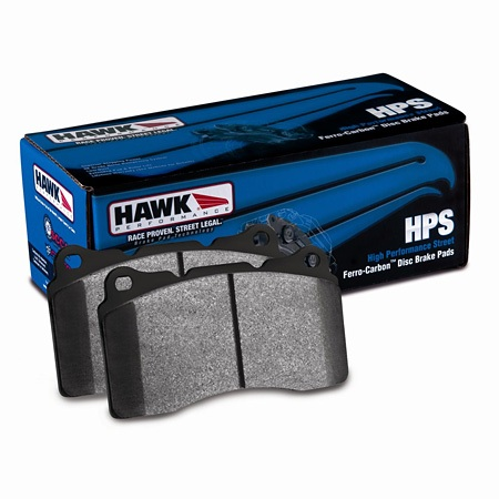 Hawk HPS Non-Brembo Rear Pads Genesis Coupe 2010 - 2016
