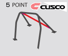 Cusco D1 Blue Chromoly 5 Point Roll Cage Genesis Coupe