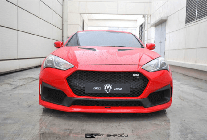 M&S GHOST SHADOW FRONT BUMPER BK2 GENESIS COUPE 2013 - 2016