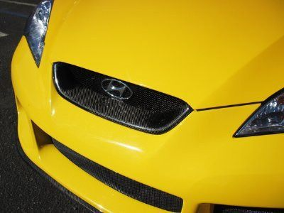 RMR Fiberglass Signature Edition Grill Genesis Coupe 2010 - 2012 - Click Image to Close