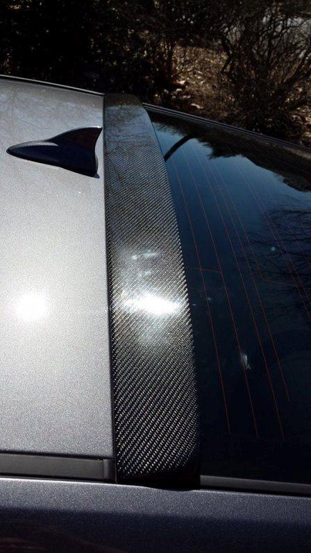 Sarona Design Carbon Fiber Roof Spoiler Genesis Coupe 2010