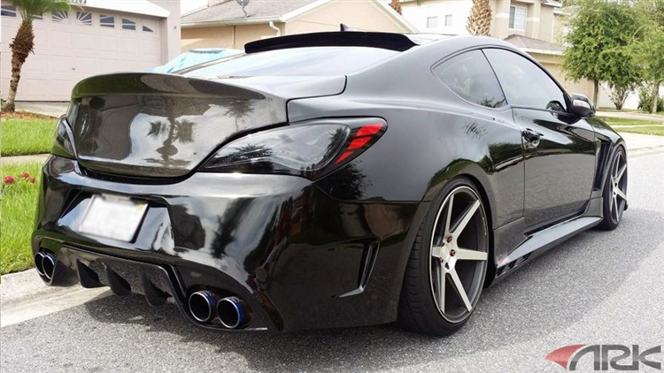Extreme Dimensions Vg R Front Bumper Genesis Coupe 2010