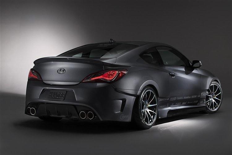 Hyundai Genesis Coupe Spoilers