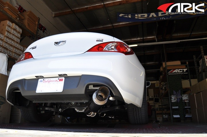 ARK N-II Single Exhaust 2.0T Genesis Coupe 2010 - 2014 - Click Image to Close