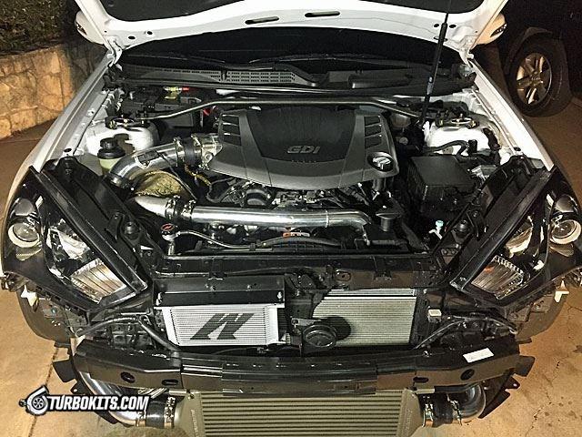 TurboKits Single Turbo Kit 38 GDI 2013  2015 Genesis Coupe